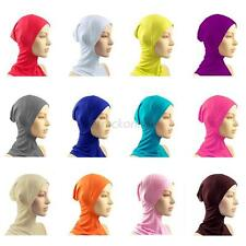 Under Scarf Hat Cap Bone Bonnet Hijab Ninja Cover Muslim Islamic Head Wear Q15