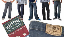 NEW Signature  Levi Strauss Boys' Bootcut Slim Straight Skinny Relaxed  Jeans