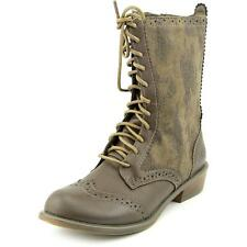 Dirty Laundry Paxton Womens Boots Calf Wingtip Textile Fashion Mid-Calf Boots