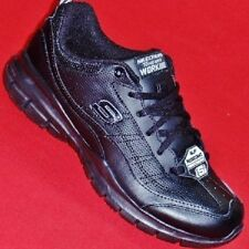 NEW Women's Black SKECHERS LIBERATE 76496 WORK Slip Resistant Leather Shoes