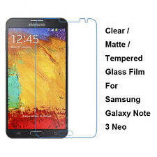 Tempered Glass/Clear/Matte Screen Protector For Samsung Galaxy Note 3 Neo N7505