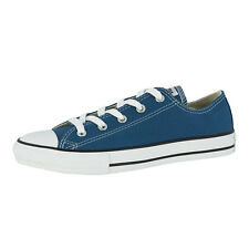 CONVERSE CHUCK TAYLOR ALL STAR OX CHILDRENS SHOES BLUE 336816C BLUE