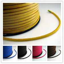 Korea Velvet Cords Thread Wire Weave Bracelet Necklace Handicraft Material 3MM