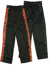 Zipway NBA Basketball Youth Miami Heat Blueprint Tear-Away Track Pants, Black