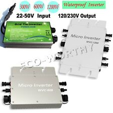 300W 500W 1KW 1.2KW grid tie inverter for solar panel home system MPPT function
