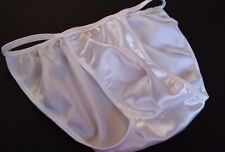 Male Custom Shiny Satin Brief, Rio or Thong Color options   s m l or xl USA