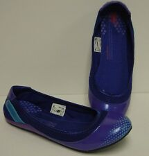 NEW Womens NEW BALANCE 115 BL Blue Purple Sports Flat Slip On Sneakers Shoes