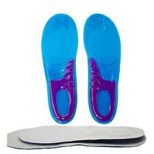 Cuttable Soft Silicone Sport Gym Shoe Pad Motion Anti-Shock Absorber Shoe Insole