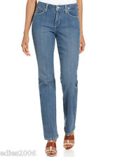 NWT NOT YOUR DAUGHTERS JEANS * MARILYN STRAIGHT LEG * EMBELLISHED MEDIUM WASH