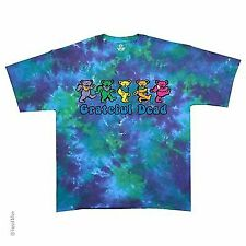 GRATEFUL DEAD DANCING BEARS ROCK TIE DYE BAND COLORFUL MUSIC MENS T SHIRT S-2XL