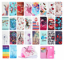 Cute PU Flip Wallet Stand Leather Case Hybrid Cover For Alcatel One Touch Pop