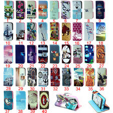 1pc Folio Flip Magnetic PU Leather Wallet Card Holder Stand Case Cover For Nokia