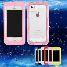 Sealed Waterproof Case Diving Underwater Shockproof Durable Cover for iPhone5 5s