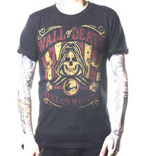 La Marca Del Diablo 666 Wall of Death  T Shirt Hell's Outlaw Born to Run 2015