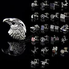 Mens Novelty Stainless steel Animal Model Wedding Party Gift Shirt Cufflinks