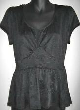 NWOT Ladies Target Hot Options Size 8 10 12 14 16 18 Black Stylish Top