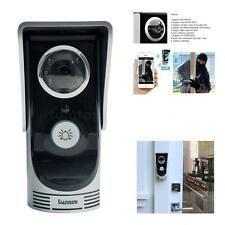 Wireless Video Visual Door Phone Doorbell Intercom System Home Security
