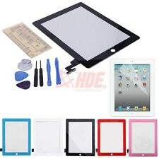 Replacement Touch Screen Glass Digitizer for iPad 2 3 4 Mini Air w/ Repair Kit