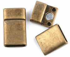 Lots 1/2/5/10 Pcs Bronze Magnet Tibetan Silver Crafts Jewelry Findings Clasps