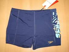 Speedo Xpres Lane swimming shorts trousers Endurance boys new blue 8-056557008