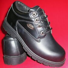LUGZ Men's Black Mid Lace Up Fashion Casual Work/Casual Ankle Boots/Shoes NEW