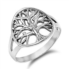 Women's Tree of Life Beautiful Ring New .925 Sterling Silver Band Sizes 5-10