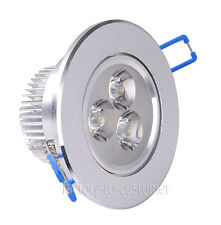 9W LED Downlight Recessed Fixture Cabinet Ceiling Light Lamp Kit Warm Cool White