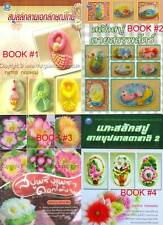 Learn To Crave Art Thai Flower Animal Soap Carving Book Multi-Color Craft ByStep