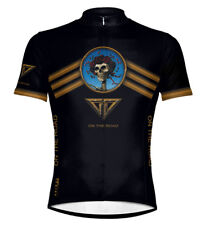 Primal Wear Grateful Dead On The Road Cycling jersey Men's Short Sleeve with Sox