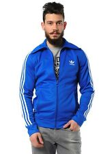 ADIDAS ORIGINALS EUROPE TRACK TOP MEN'S TRAINING JACKET BECKENBAUER BLUE WHITE