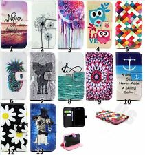 Stand Soft Flip PU Leather Cover Cute Case  For Samsung Galaxy S5 mini SM-G800