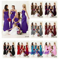 New Hot Prom Evening Formal Party Ball Gown Prom Bridesmaid Wedding Dress 6-16