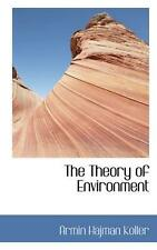 NEW The Theory of Environment by Armin Hajman Koller Paperback Book (English) Fr