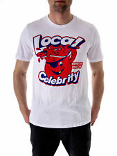 Local Celebrity T-Shirt Tea Top Cool Aid white Short Sleeved Crew Neck