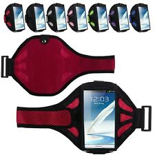 Sports Running Jogging Gym Armband Arm Band Case Mesh Holder for Samsung iPhone