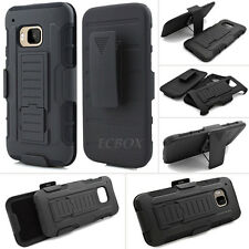 Armor High Impact Future Kickstand Combo Case + Belt Clip Holster for HTC One M9