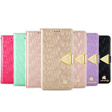 1PC Luxury Leather Flip Wallet Stand Cover Case For Samsung Galaxy S5 i9600 2015