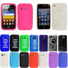 Printed Silicone Rubber Gel Back Skin Case Cover For Various Mobiles + Stylus