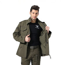 Mens Hiking Camping Travel Military Combat Cotton Coat Jacket Tactical Parka