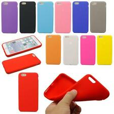 Candy Color Soft Silicone Rubber Gel Back Case Cover Skin For iPhone 6 & 6 Plus