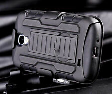New Heavy Duty Shockproof Hybrid Armor Hard Case Cover For Galaxy S4 Mini i9190