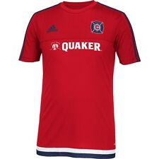 adidas Chicago Fire MLS 2014 - 2015 Soccer Training Jersey Red