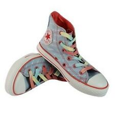 Converse Junior Chuck Taylor All Star Hi Shoe in Baby Blue/Multi (CLEARANCE!)