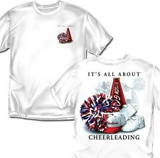 It's all about Cheer Leading  - White - Adult Sizes