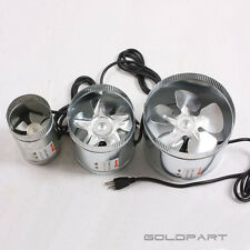 """4"""" 6"""" 8"""" Inch Duct Fan Exhaust Vent Air Cooled Hydroponic Inline Blower US Ship"""