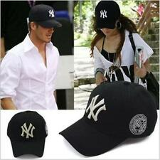 Mens Womens Baseball NY Cap Adjustable Snapback Sport Hip-Hop Hat Unisex