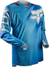2015 FOX RACING 360 FLIGHT JERSEY BLUE MX UTILITY TASK VEHICLE ATV 10766-002