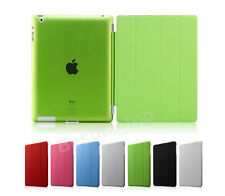 ULTRA THIN MAGNETIC LEATHER SMART CASE COVER STAND FOR APPLE iPAD 3 & 2 & iPAD 4
