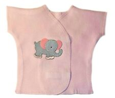 Eager Elephant Baby Girl Shirt - Premature Babies, Preemie and Newborn Sizes!