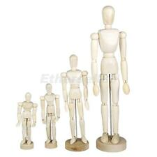 Wooden Human Body Articulated Movable Manikin Artist Drawing Sketch Model Figure